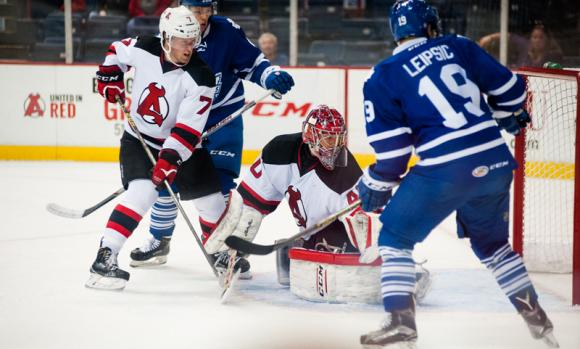 Albany Devils vs. Toronto Marlies at Times Union Center