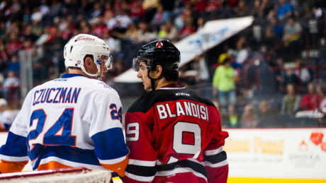 Albany Devils vs. Bridgeport Sound Tigers at Times Union Center