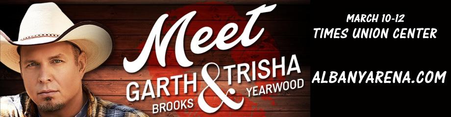 Garth Brooks & Trisha Yearwood at Times Union Center