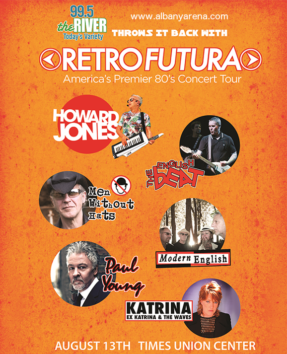 Retro Futura Tour at Times Union Center
