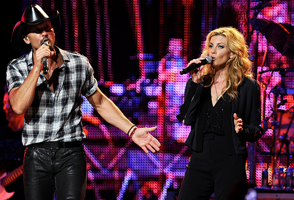 Tim McGraw & Faith Hill at Times Union Center