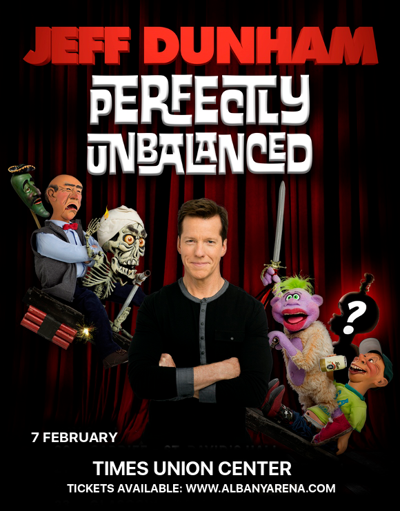 Jeff Dunham at Times Union Center
