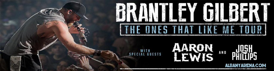 Brantley Gilbert, Aaron Lewis & Josh Philips at Times Union Center