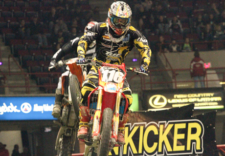 Kicker Arenacross and Freestyle Motocross at Times Union Center
