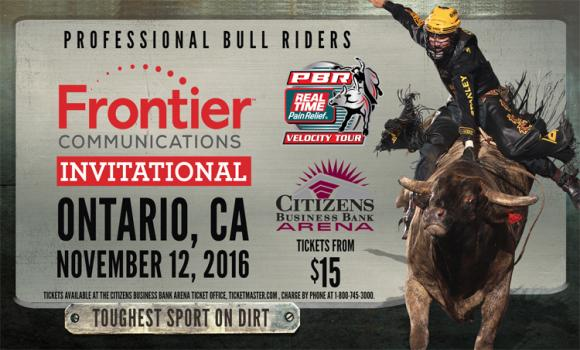Real Time Pain Relief Velocity Tour: PBR - Professional Bull Riders at Times Union Center