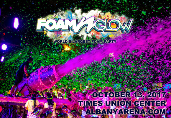 Foam N' Glow at Times Union Center