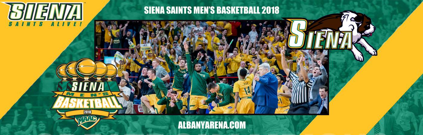 Siena Saints Mens Basketball at Times Union Center
