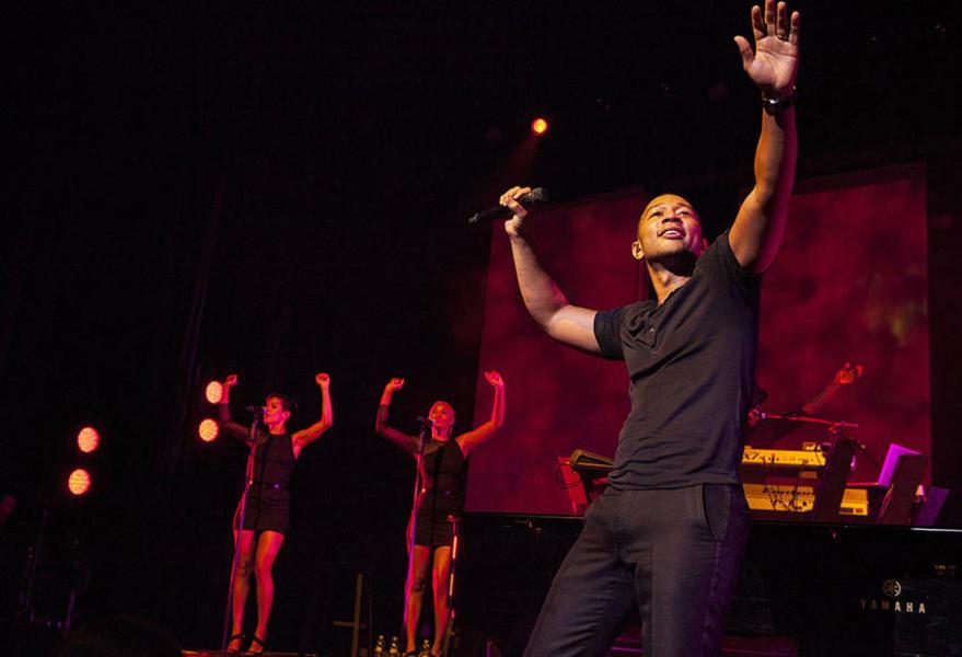 The Gala Celebration: James Taylor, John Legend & Jim Belushi at Times Union Center