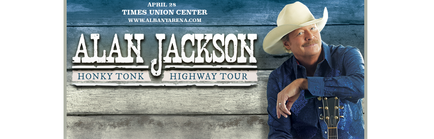 Alan Jackson at Times Union Center