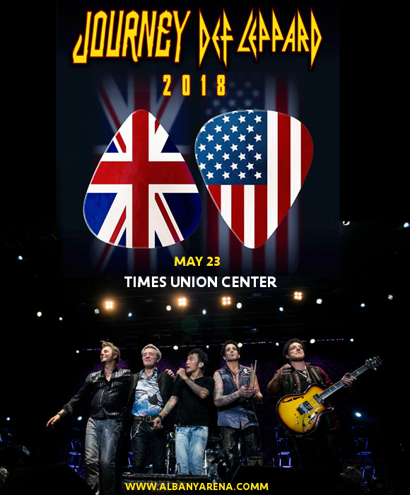 Journey & Def Leppard at Times Union Center