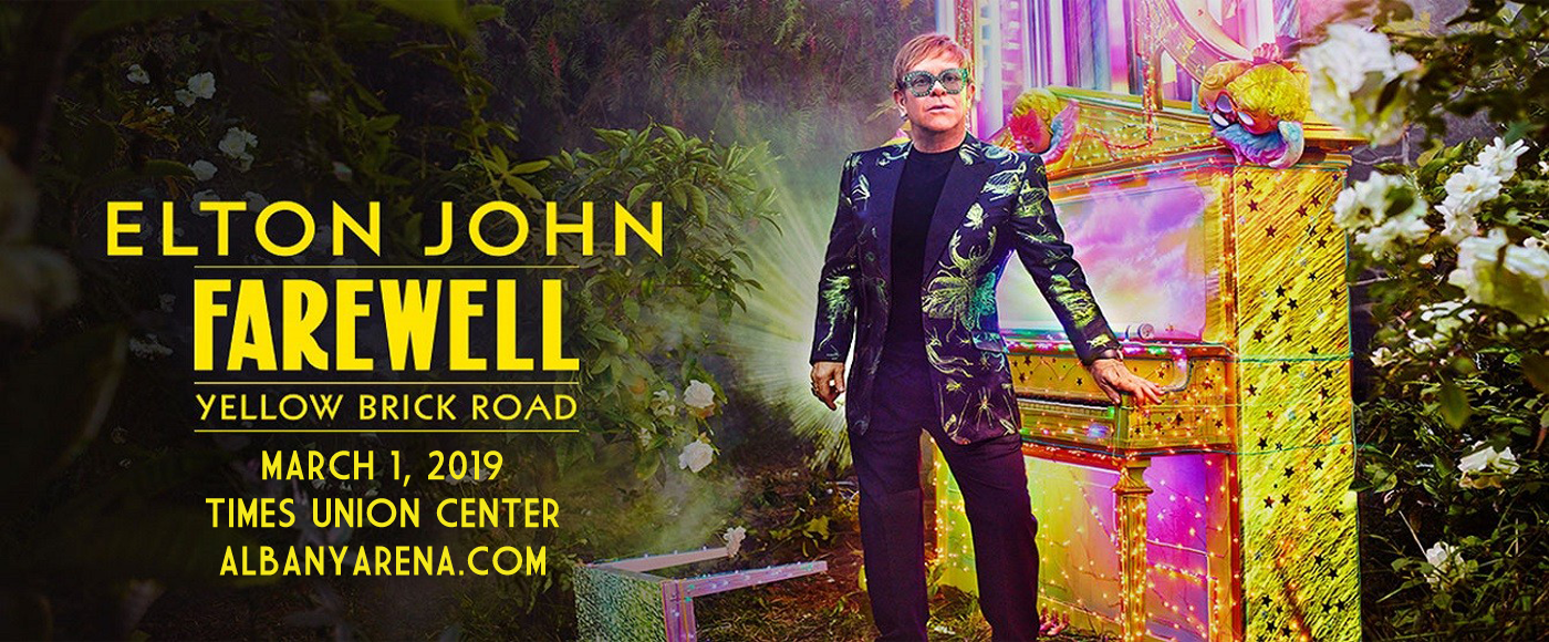 Elton John at Times Union Center