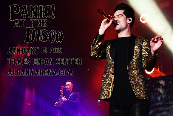 Panic! At The Disco & Two Feet at Times Union Center