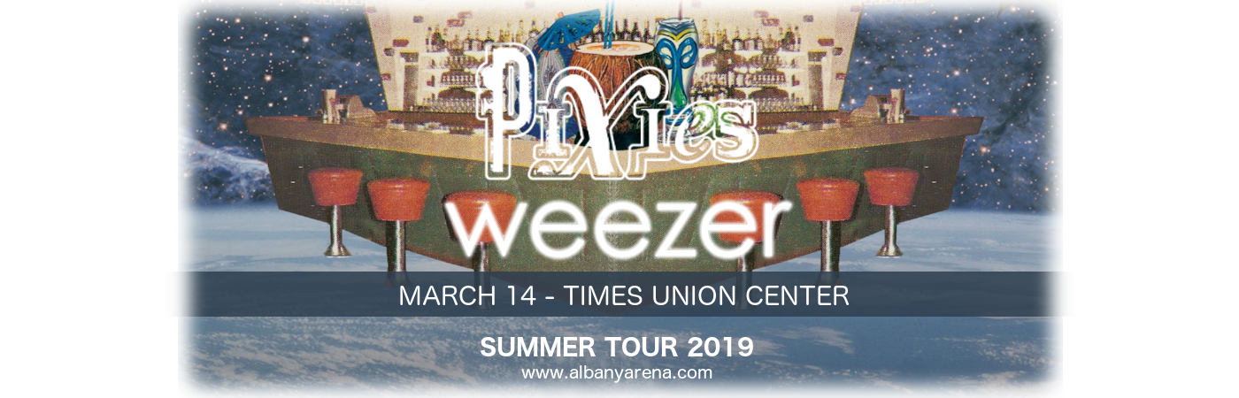 Weezer & Pixies at Times Union Center
