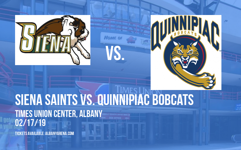 Siena Saints vs. Quinnipiac Bobcats at Times Union Center