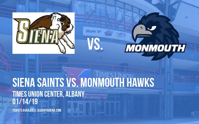 Siena Saints vs. Monmouth Hawks at Times Union Center