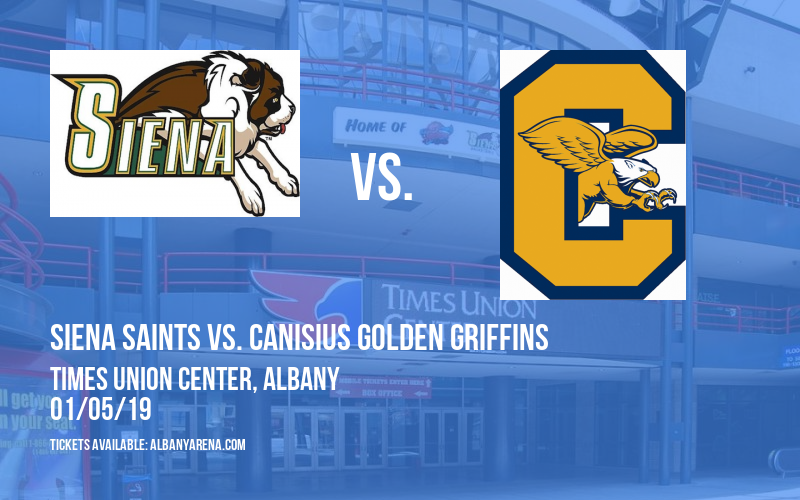 Siena Saints vs. Canisius Golden Griffins at Times Union Center
