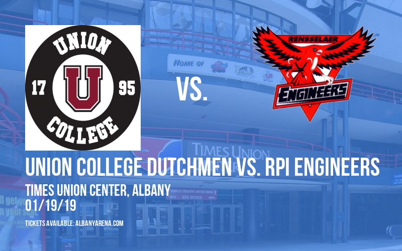 7th Annual Capital District Mayor's Cup Hockey: Union College Dutchmen vs. RPI Engineers at Times Union Center