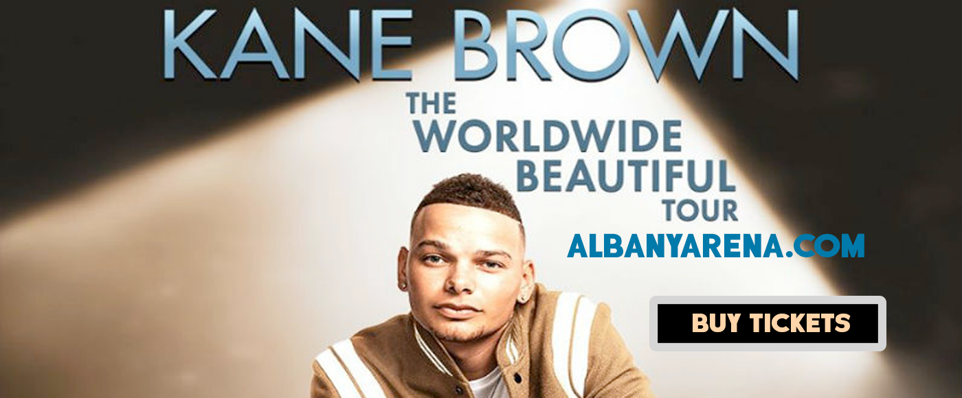 Kane Brown, Chris Lane & Russell Dickerson at Times Union Center