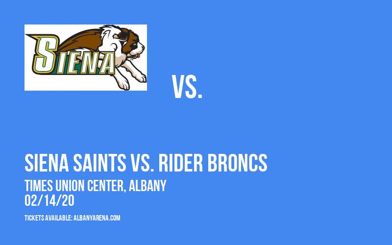 Siena Saints vs. Rider Broncs at Times Union Center