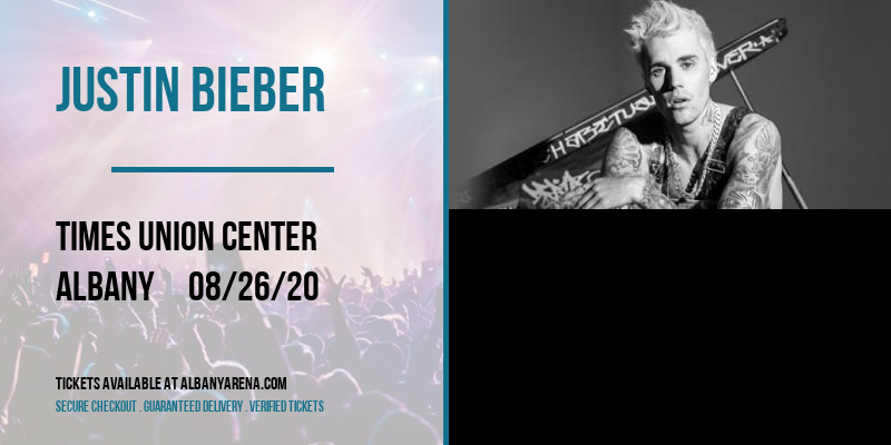 Justin Bieber [POSTPONED] at Times Union Center