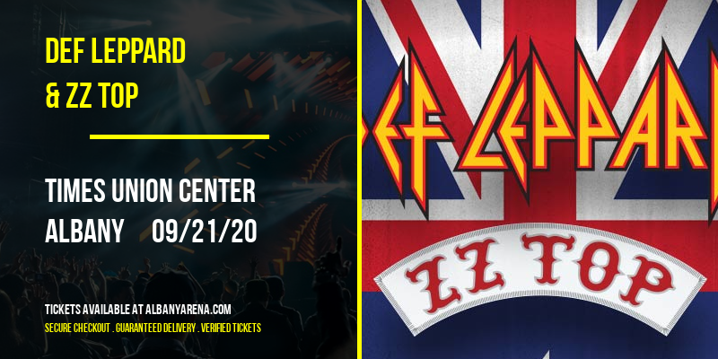 Def Leppard & ZZ Top at Times Union Center