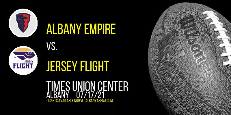Albany Empire vs. Jersey Flight at Times Union Center