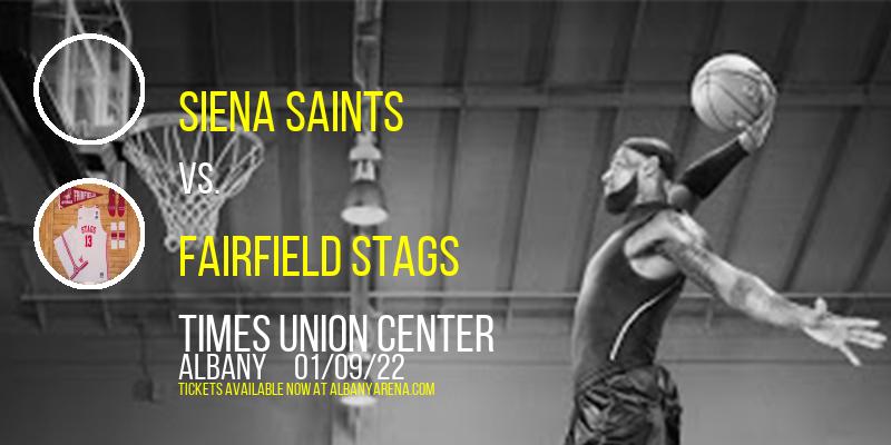 Siena Saints vs. Fairfield Stags at Times Union Center