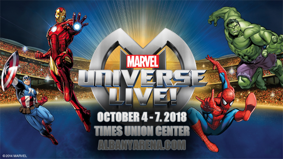 Marvel Universe Live! at Times Union Center